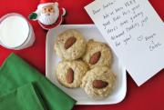Holiday Almond Cookies for Kids
