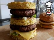 How to make a Ramen Burger Big Mac