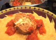 Pancetta Stuffed and Smothered Italian Meatloaf
