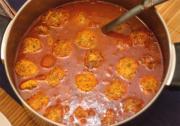 Moroccan Meatball Soup