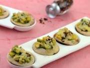 Corn and Pesto Mini Pizza by Tarla Dalal