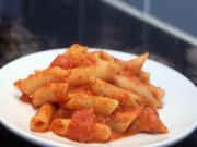 Pasta with Creamy Tomato and Hoop Cheese