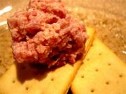 Deviled Ham Dip With Crackers