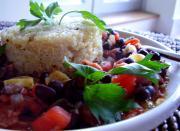 Spicy Black Beans and Quinoa