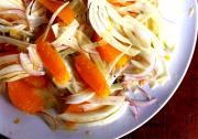 Chicken Salad With Fennel, Orange And Raspberries