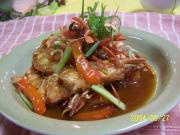 Famous Thai Seafood dish