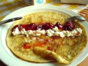 Sweet Crepes with Nutella