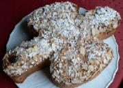Colomba Pasquale is a popular Easter Cake in Italy