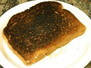 Salvaging a Burnt Toast