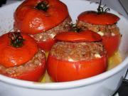Mediterranean Stuffed Tomatoes w/ Feta