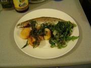 Apple Stuffed Bass