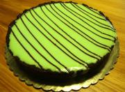 Grasshopper Liquor Cheesecake