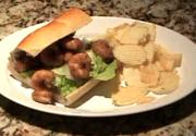 Shrimp Po-Boys with Tartar Sauce