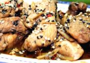 Spicy Chicken with Sesame Seeds