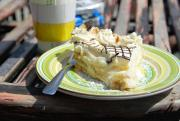 Banana Rum Pie