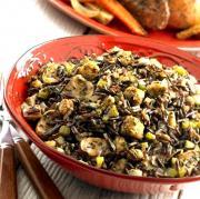 Sherried Mushroom Wild Rice
