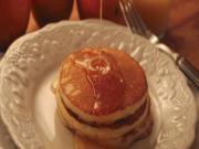 Orange, Ricotta Pancakes