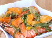 Tiger Prawns in Cocomilk and Fish Sauce