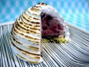Strawberry Ice Cream and Baked Alaska - The Aubergine Chef