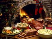 Betty's Christmas Dinner Table