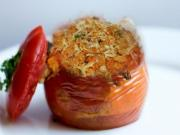 Spam And Pasta Stuffed Tomatoes