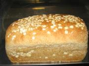 Mixed grain bread makes an easy to go breakfast
