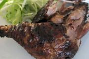 Barbecued Duck Legs