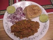 Spicy Pav Bhaji