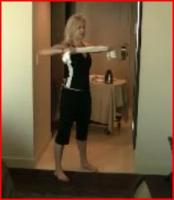 Upper Body Workout Using Towel While Travelling