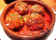 Veal Balls with Fresh Tomato Sauce