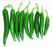 Less hot green chili