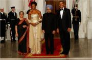 The State Dinner Menu - A blend of American and Indian flavors!