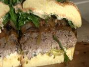 SmokingPit.com - Zesty Italian Onion Burgers Oak Wood Fire Grilled on the Scottsdale