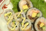 Oriental Futomaki Sushi & California Roll