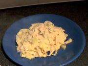 Zuza zak's Weeknight Dinners: Smoked Salmon and Leek Tagliatelle