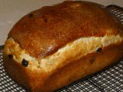 Raisin Nut Honey Bread