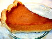 Spiced Pumpkin Pie Using Brown Sugar