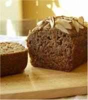 Naturally Sugar-Free, Whole Grain Banana Bread