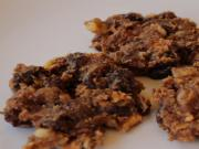 Carob Almond Raisin Cookies
