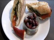 Mediterranean Grilled Sandwich