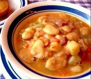 Skillet Ham  N  Beans
