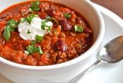 Easy Sausage Chili