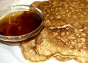 Protein Powder and Whole Grain Oats Pancakes
