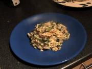 Zuza zak's Weeknight Dinners: Sausage, Kale and Sage Risotto