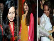 Katrina Kaif at Salman Khan's Ganpati Visarjan