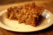 Oatmeal Praline Cake