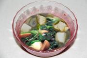 Fish Spinach And Tofu Soup