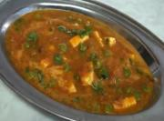 Quick Matar Paneer - Indian Vegetarian