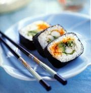 sushi health benefits are aplenty and is therefore best to eat them twice a day
