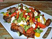 Summertime Turkey Sausage Salad